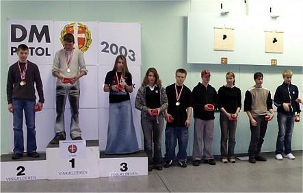 2003 - DM luft Morten